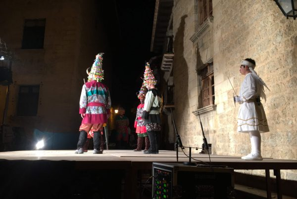 Representación Vida de San Antonio, Mirambel