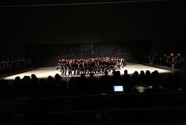 Representación de Danza Instituto de Secundaria de Cella