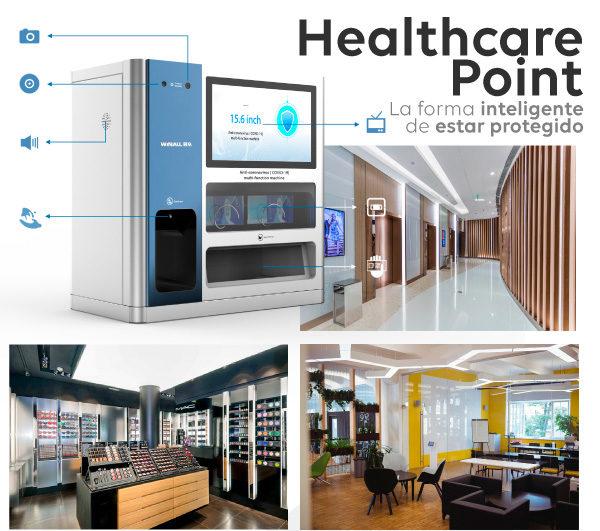 Punto de Asistencia Sanitaria Digital. Healthcare Point